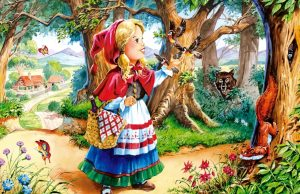 Сказки Шарля Перро на английском языке fairy tales: Красная Шапочка - Little Red Riding Hood - Сказки на английском - Английский язык