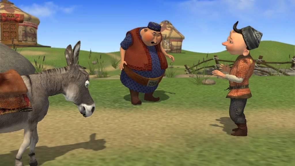 Алдар Косе сказки (мультфильмы) на казахском языке